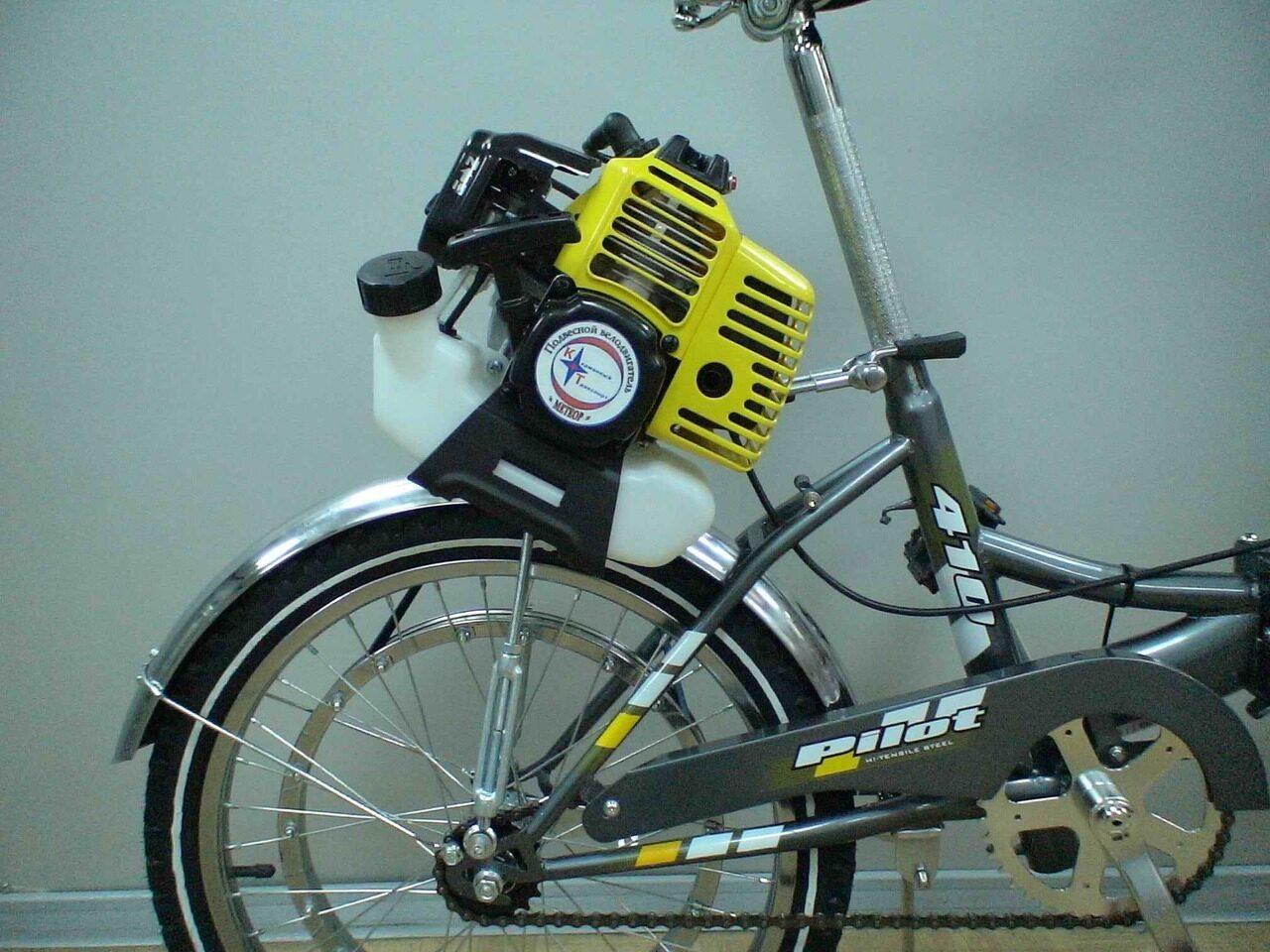 сколько стоит подвесной мотор на велосипед