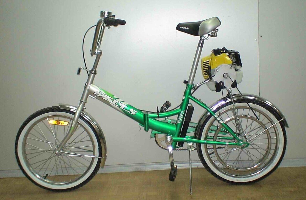 Как сделать велосипед с мотором своими руками: самодельный 22